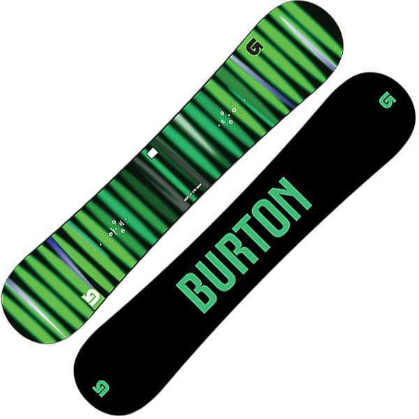Burton LTR Snowboard 155cm Wide (green black)