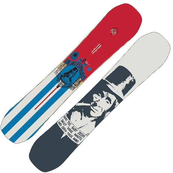 Burton Easy Livin Snowboard 152cm (the blues project)