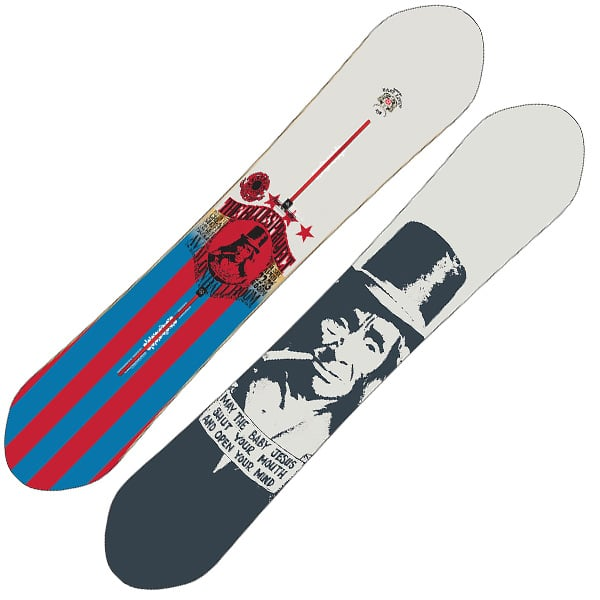 Burton Easy Livin Snowboard 158cm (the blues project)