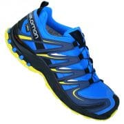 Salomon XA Pro 3D GTX GORE-TEX V0  Gelände Schuhe (bright blue slateblue corona yellow)