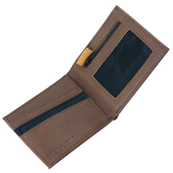 Volcom Slimestone Wallet Brieftasche (mocca)