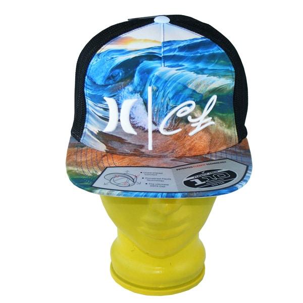 Hurley Clark Little Flexfit 110 Snapback Cap (clearwater phantom)