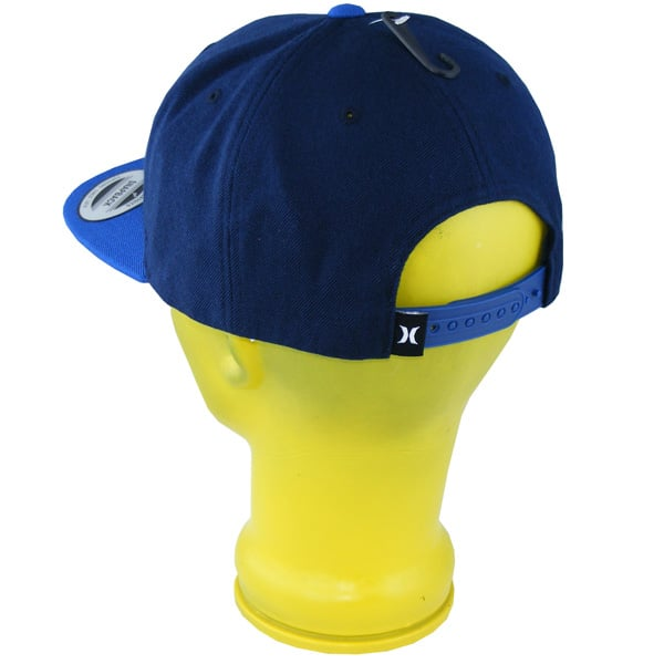 Hurley Classic One and Only Snapback Cap (blue navy)