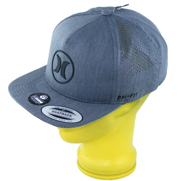 Hurley Dri Fit Icon 2.0 Snapback Cap (grey)