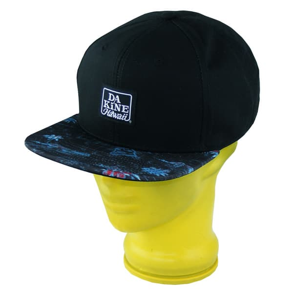 Dakine Hawaii Snapback Cap (black)