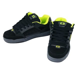Globe Tilt Schuhe (charcoal black lime)