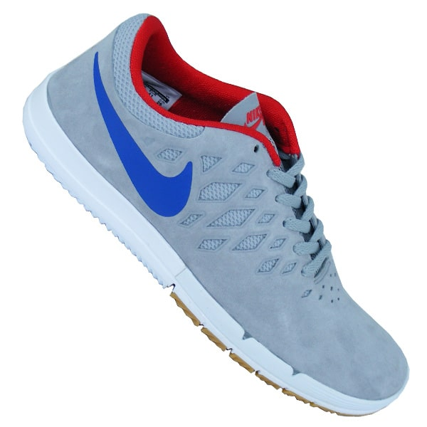 Nike SB Free Schuhe (wolf grey royal university red)