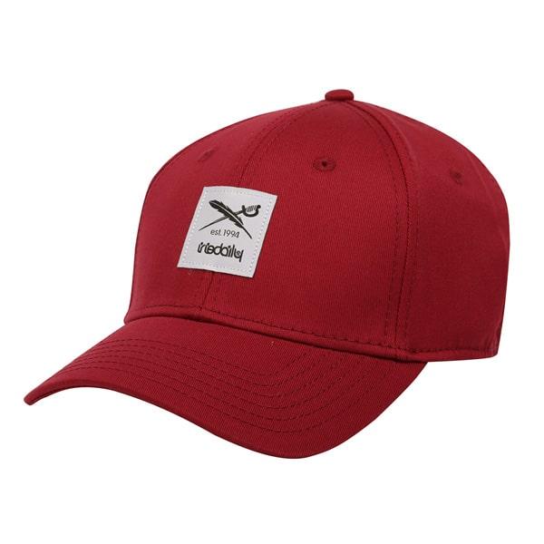 Iriedaily Daily Flag Flex Snapback Cap (maroon)