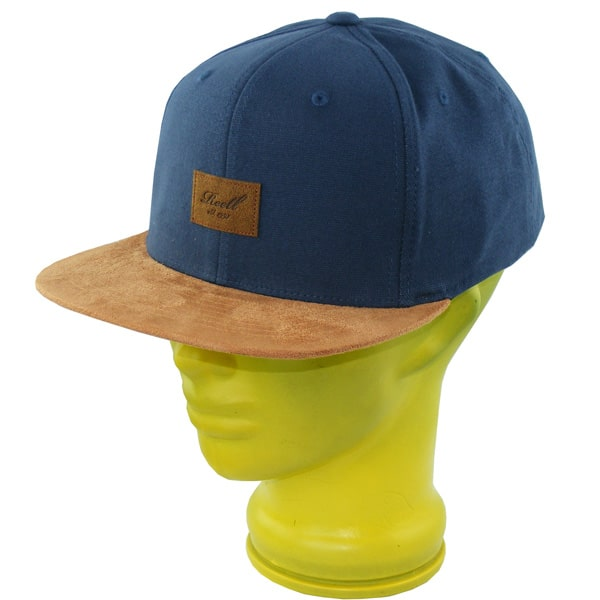 Reell Suede Snapback Cap (charcoal)