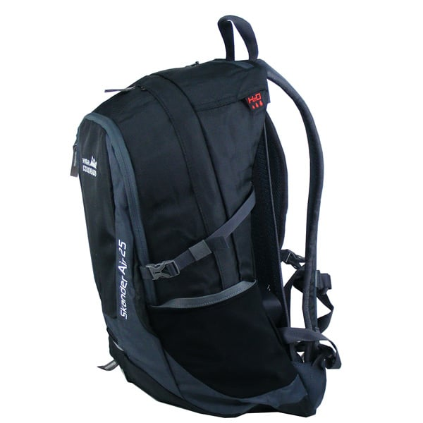 High Colorado Skanden Air 25L Backpack Rucksack (black dark grey)
