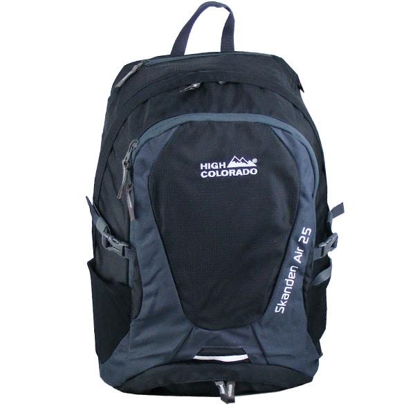 High Colorado Skanden Air 25L Backpack Rucksack (black dark grey)