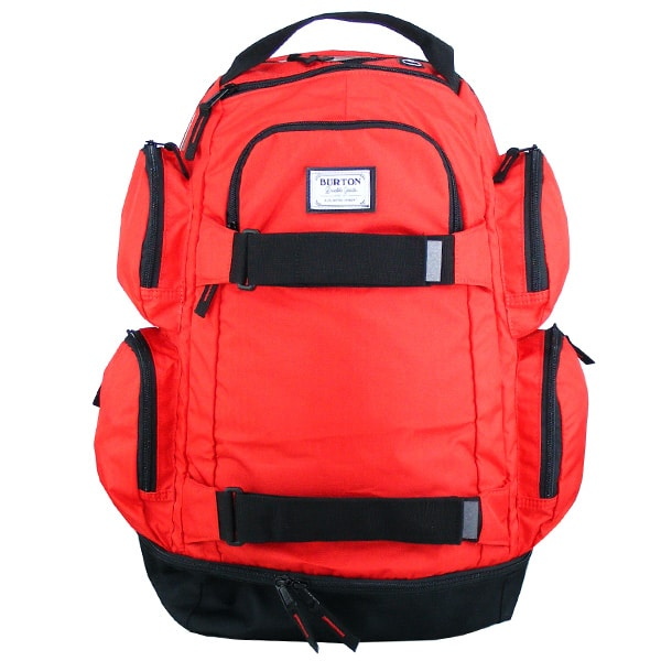 Burton Distortion Pack Schulrucksack in knalligen rot