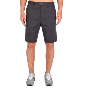 Iriedaily Golfer Chambray Short (anthra melange)