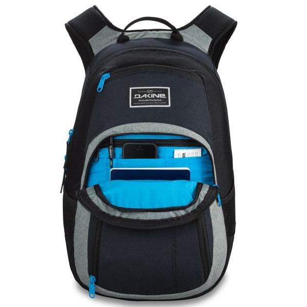 dakine campus schulrucksack 33liter schwarz grau rucksack. Black Bedroom Furniture Sets. Home Design Ideas