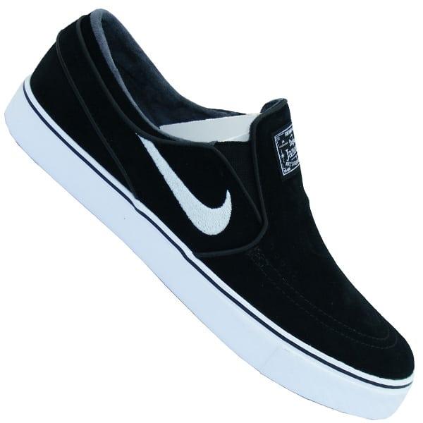 Nike SB Zoom Stefan Janoski Slip On Schuhe (black White)