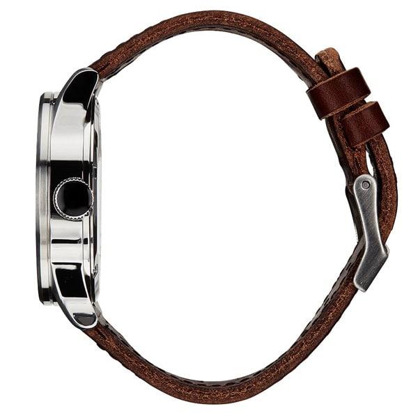 Armbandmaterial Leder Nixon Sentry