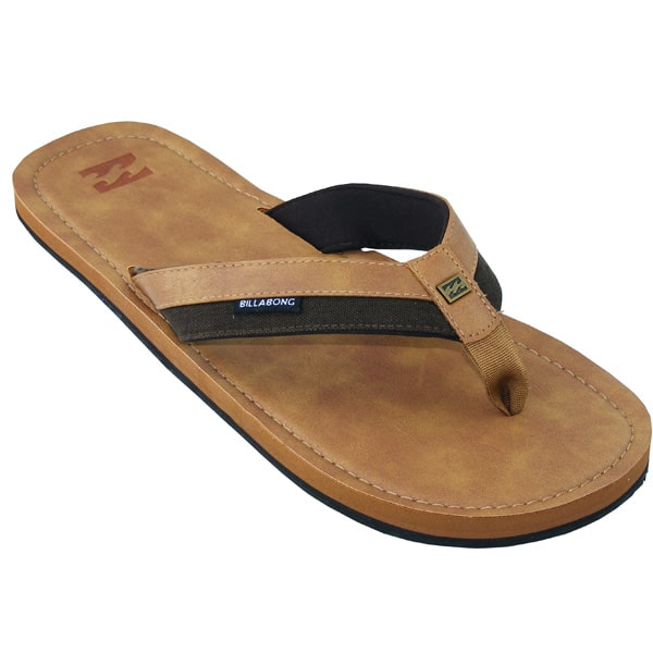 Billabong Seaway Leder Flip Flops (antique)