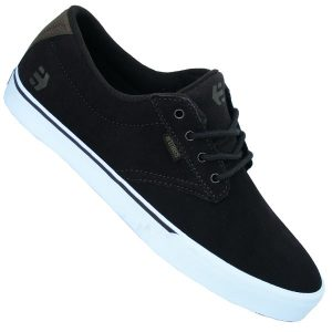 Etnies Jameson Vulc Velourleder Schuhe (dark brown)