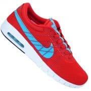 Nike SB Eric Koston Max Schuhe rot blau weiß