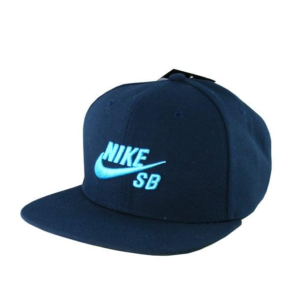 Nike Divers Snapback Cap (black turkoise)