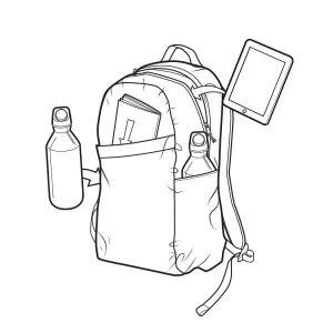 Burton Apollo Daypack Rucksack mit 19 Liter Volumen