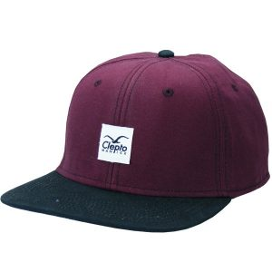 Cleptomanicx Badger 2 Snapback Cap rot