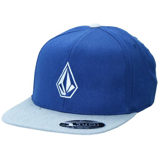 Volcom Full Stone 110 Flexfit Snapback Cap blau grau