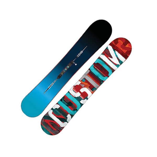 Burton Custom Flying V 169cm wide Snowboard (no color)