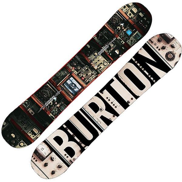 perfektes Burton Blunt 154cm Snowboard für Deinen nächsten Winterurlaub