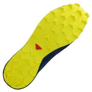 Salomon Speedcross 4 GTX GORE-TEX Outdoor und Geländeschuhe blau gelb
