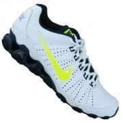 Nike Reax 9 TRainer weiss gelb