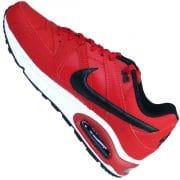 Nike Air Max Command Leder Laufschuhe in kräftigen gym rot