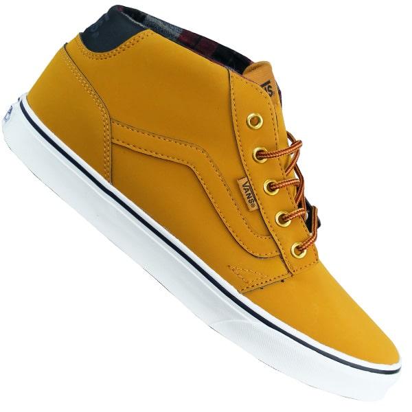 Vans Chapman Mid Herren Schuhe in gelb schwarz