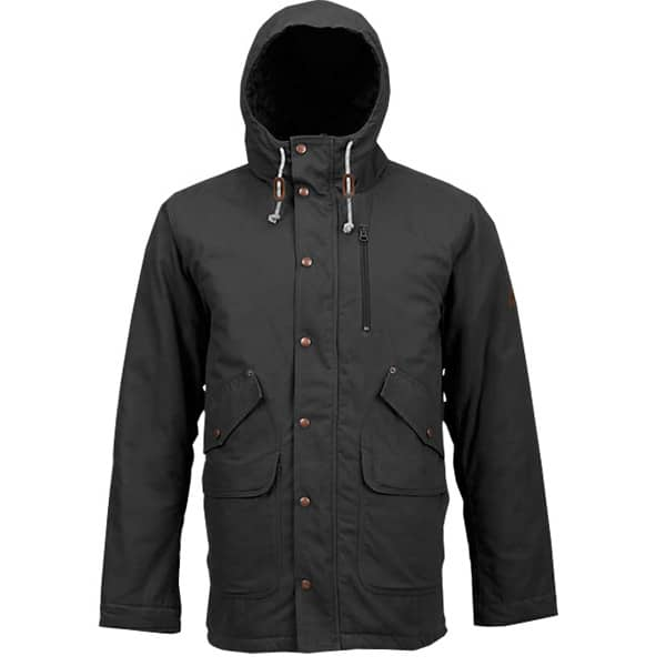 Burton Sherman Winterjacke in schwarz
