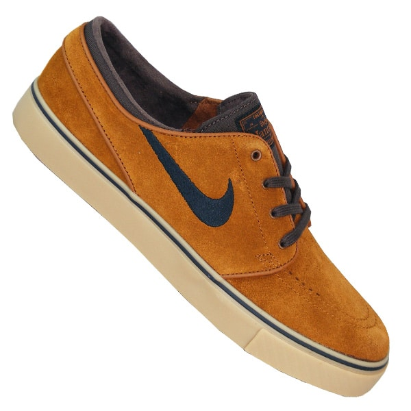 nike sb zoom stefan janoski herren skateboarding schuhe braun. Black Bedroom Furniture Sets. Home Design Ideas