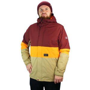 stylische farbenprächtige Snowboardjacke von Billabong