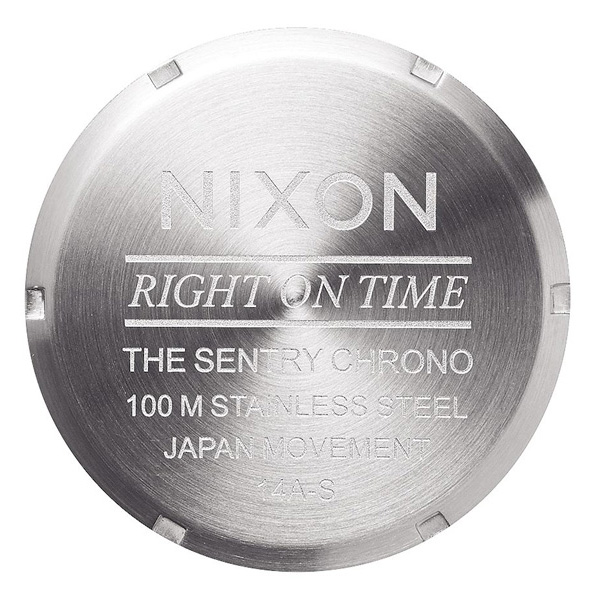 "Nixon ""Right on Time"" The Sentry Chrono"