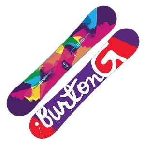 Burton Genie Snowboard Damen 2016 152cm mehrfarbig
