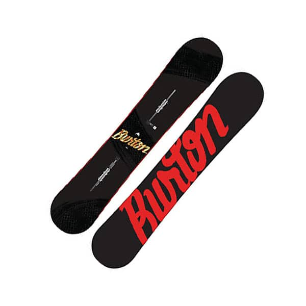 Burton Ripcord Snowboard 158cm wide mehrfarbig