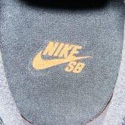 Innensohle Nike SB Swoosh in orange