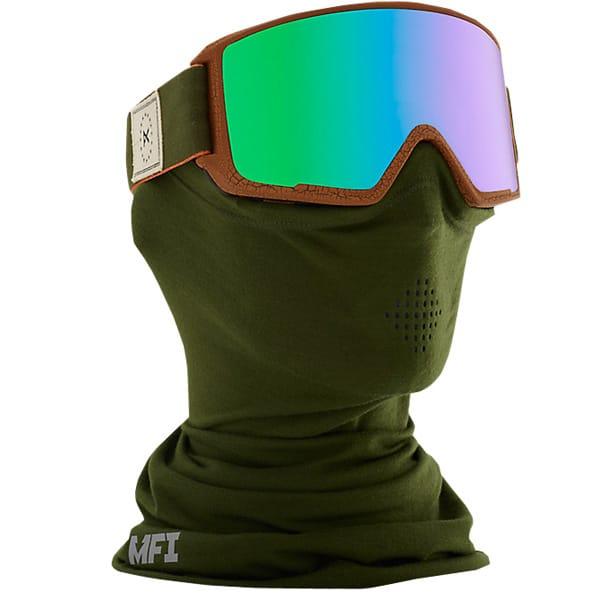ANON M3 MFI Snowboardbrille mit Windschutzmaske
