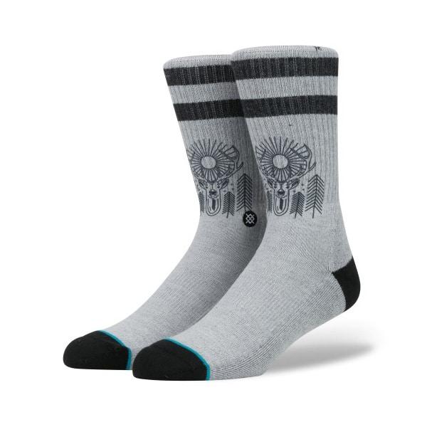 Stance Blue Peaceful Socken in grau
