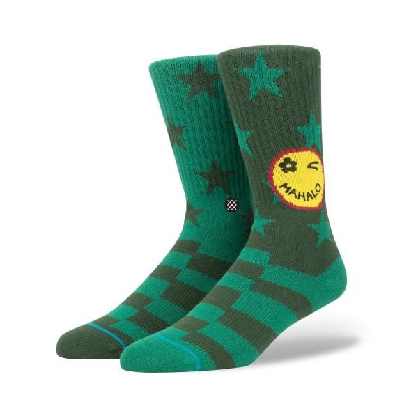 Stance Socken in schicken grün