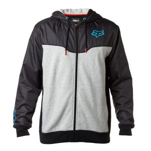 modische Fox Rotations Zip Fleece Kapuzenjacke