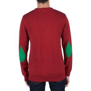 komfortabler Rundhals Herrensweater