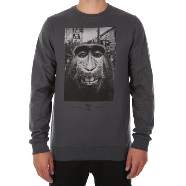 Iriedaily Takeover Crew Sweatshirt mit coolen Frontprint