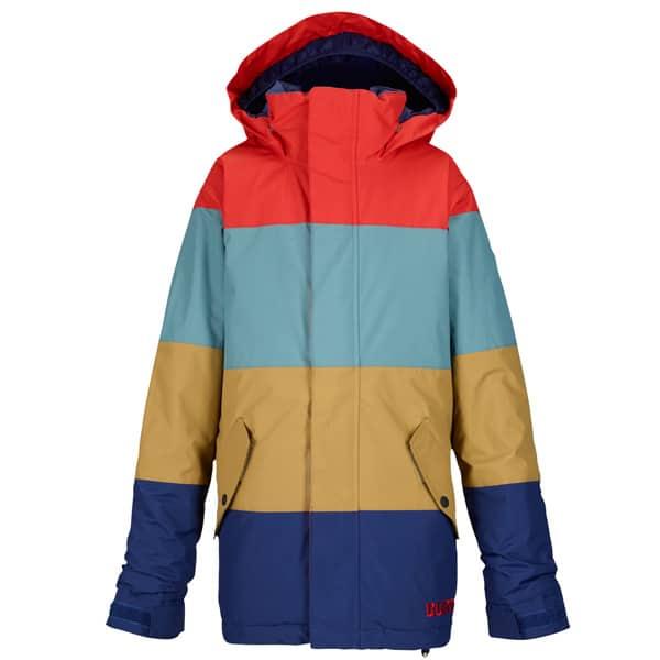 warme Burton Symbol Kinder Snowboardjacke