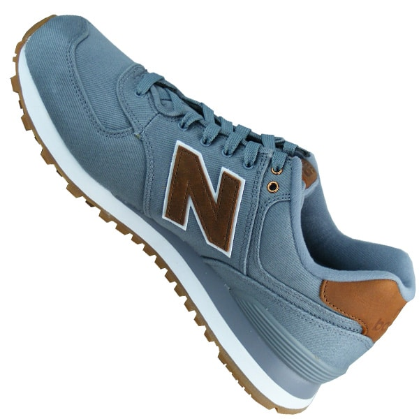 Fashion New Balance ML574CAO Lovers Wildleder Grau Braun