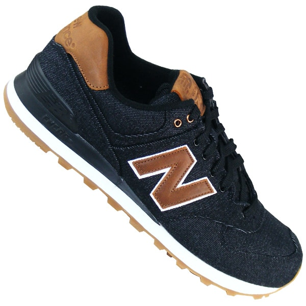 New Balance 574 Schuhe Herren Schwarz Graue Braune New