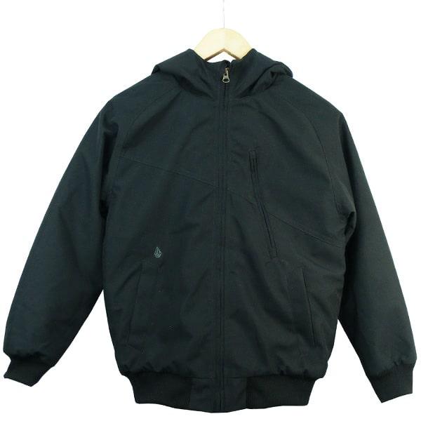 Moderne warme Burton Hernan Kinder Winterjacke in schicken schwarz
